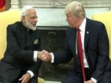Video : PM Narendra Modi, Donald Trump Shake Hands At White House