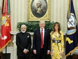 Video : Will Say Lots After Meeting President Trump, Says PM Modi
