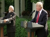 Video : PM Modi, Donald Trump's Joint Statement To Media At White House