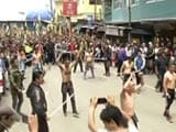 Video : 'GTA Funeral Held Today, Only Gorkhaland Now,' Say Protesters In Darjeeling