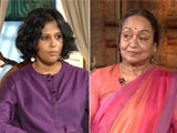 Video : Meira Kumar Reacts To Sushma Swaraj's Video Against Her: 'We Are Friends'