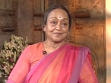 Video : 'It's Not A Dalit vs Dalit Battle': Meira Kumar To NDTV