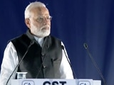 Video : As GST Takes Off, PM Modi Presents Stats Of Crackdown On Black Money