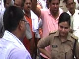 Video : Mass Transfer In UP Includes Woman Cop Who Took On Angry BJP Workers