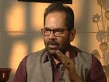 Video : Don't Link Crime To Religion, India Safe For Minorities: Minister Naqvi