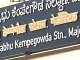 Video : Hindi Words 'Covered Up' On Bengaluru Metro Signs Amid Language Debate