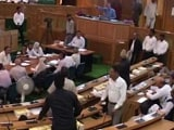 Video : Jammu And Kashmir Adopts GST Resolution Amid Protests By Opposition