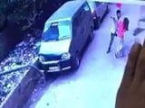 Video : CCTV Shows Young Delhi Woman Being Stabbed By Man, She Died