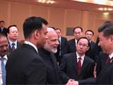 Video : पीएम नरेंद्र मोदी और शी चिनफिंग के बीच हुई अनौपचारिक चर्चा
