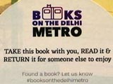 Video: Books On Delhi Metro: Take It, Read It And Drop It