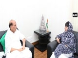Video : China Meddling In Kashmir, Says Mehbooba Mufti, Meets Rajnath Singh