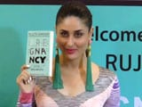 Video : Kareena Kapoor Khan Launches Rujuta Diwekar's New Book