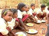 Video : गिलहरी खाने वाली पिंकी अब खा रही है मिड डे मील