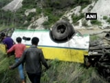 Video: Over 20 Dead As Bus Falls Into Gorge Near Rampur In Himachal Pradesh