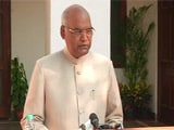 Video : It's A Great Responsibility, Says Ram Nath Kovind On Win