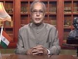 Video : इंडिया 8 बजे : राष्ट्रपति प्रणब मुखर्जी का राष्ट्र के नाम विदाई संबोधन, कहा-भारत की आत्मा सहिष्णुता में