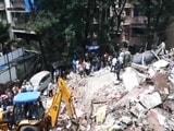 Video: मुम्बई के घाटकोपर पश्चिम में दामोदर पार्क के पास इमारत गिरी...