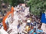 Video : 3 Dead, Many Feared Trapped In Mumbai Building Collapse