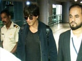 Video : Shah Rukh Khan Returns To Mumbai From Los Angeles