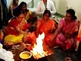 Video : Prayers, Havan By Doctors At Hyderabad Hospital Hit By Baby Deaths