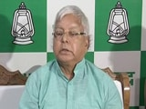 Video : Told Nitish Kumar Cases Are False, Says Lalu Yadav On Bihar Crisis