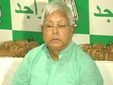 Video : Nitish Kumar Has Murder Taint, Says Bitter Lalu Yadav