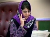 Video : Mehbooba Mufti Government Tried To Stop Arrest Of Separatists: Sources