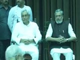Video : Nitish Kumar Swaps Allies, Takes Charge After Dramatic Break-Up