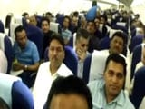 Video : Congress Express Delivers 40 Gujarat MLAs To Bengaluru Resort