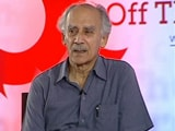 Video: Prime Minister Must Set Moral Tone For Country, Says Arun Shourie