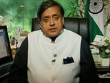 Video : Shashi Tharoor To NDTV: 'Voters Won't Forgive Nitish Kumar'