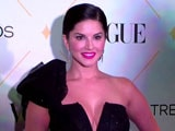 Video : Stunning Sunny Leone Speaks About Her Adopted Child At The Beauty Awards