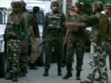 Video : 3 Terrorists Dead, 1 Policeman Injured In Encounter In Kashmir's Sopore
