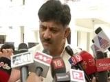 Video : Tax Raid On Karnataka Minister's Home Ends, Joins Gujarat MLAs At Resort