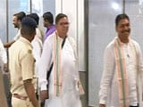 Video : Back From Bengaluru, Gujarat Congress Legislators Head To Another Resort