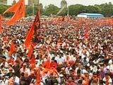 Video : Sea Of Saffron In Mumbai, 900,000 Marathas Arrive For Protest
