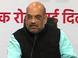 Video : 'Party Time Over' As Amit Shah, Tough Boss, Enters Parliament