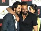 Video: When Sanjay Dutt Mocked Ranbir Kapoor At His Gym