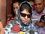 Video : 'PM Assured Article 370 Will Be Respected,' Says Mehbooba Mufti