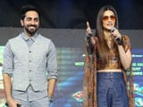 Video : Kriti Sanon & Ayushmann Khurrana Interact With College Students