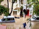 Video : Bengaluru Flooded After Night-Long Rains, Froth Back In Bellandur Lake