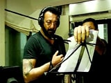 Video: Sanjay Dutt Records A Song For <i>Bhoomi</i>