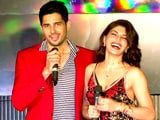 Video : Sidharth & Jacqueline Groove To Music Of A Gentleman