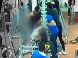 Video : Enraged Man Punches And Kicks Woman In Indore Gym. Caught On CCTV