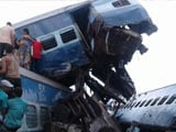 Video : 4 Railways Officials Suspended After UP Train Accident