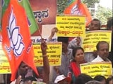 Video : Cases Against BS Yeddyurappa 'Political Vendetta': BJP At Protest Rally