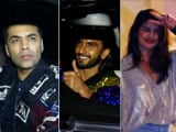 Video : Ranveer, Deepika, Priyanka & Karan At Ritesh Sidhwani's Birthday Bash
