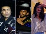 Video: Ranveer, Deepika, Priyanka & Karan At Ritesh Sidhwani's Birthday Bash