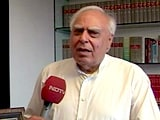 Video : Kapil Sibal In Court Opposed Ending Triple Talaq. His Reaction To The Ban