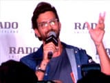 Video : Hrithik Roshan On The Importance Of Time Management
